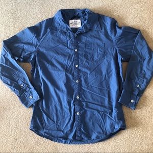 EUC American Eagle | Blue Long Sleeve Button Down